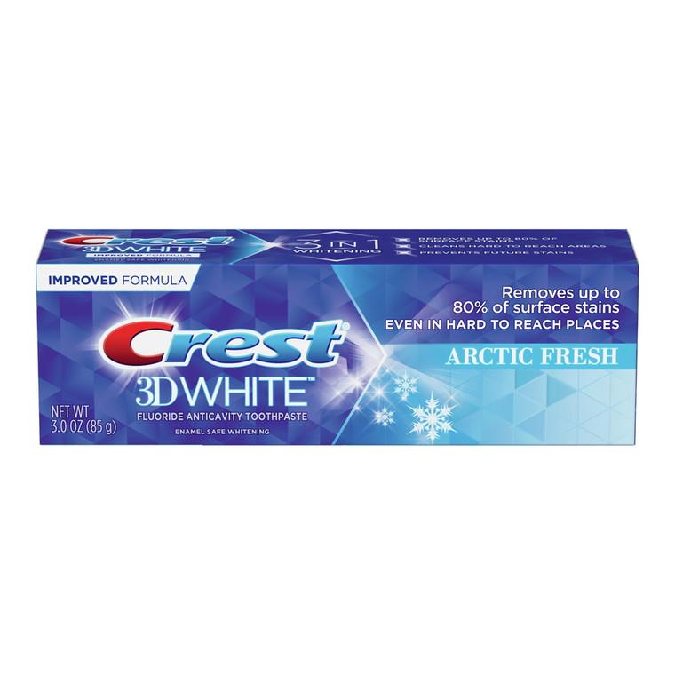 Crest 3D White Whitening Toothpaste Arctic Fresh, 3 Oz