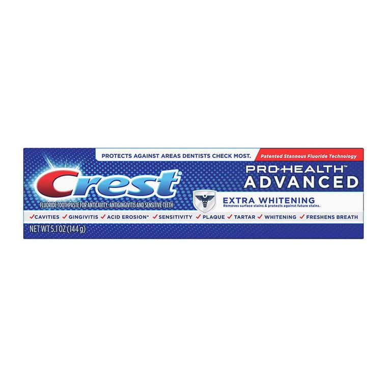 Crest Pro-Health Advanced Whitening Power Toothpaste, 5.1 Oz