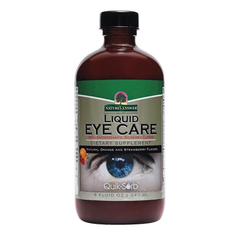 Natures Answer Liquid Eye Care Formula Supplement Fluid, 8 Oz