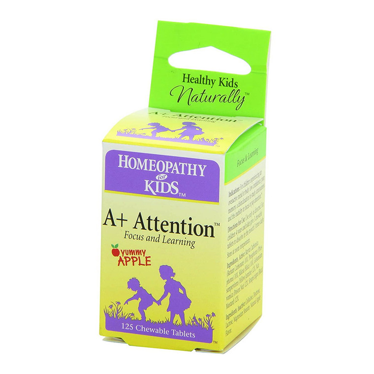 Herbs for Kids A+ Attention Tablets, 125 Ea