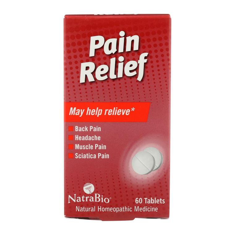 Natrabio Pain Relief Tablets, 60 Ea