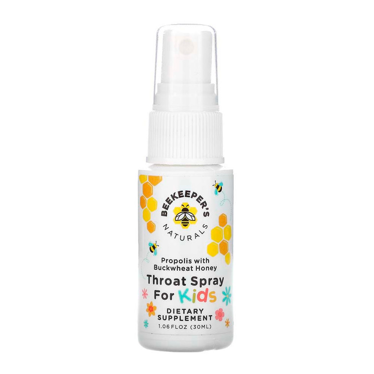 Beekeepers Naturals Propolis Throat Spray, 1.06 Oz