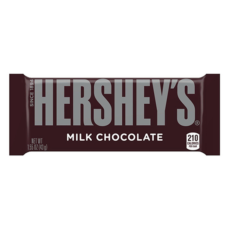 Hersheys Milk Chocolate Bars - 36 Ea