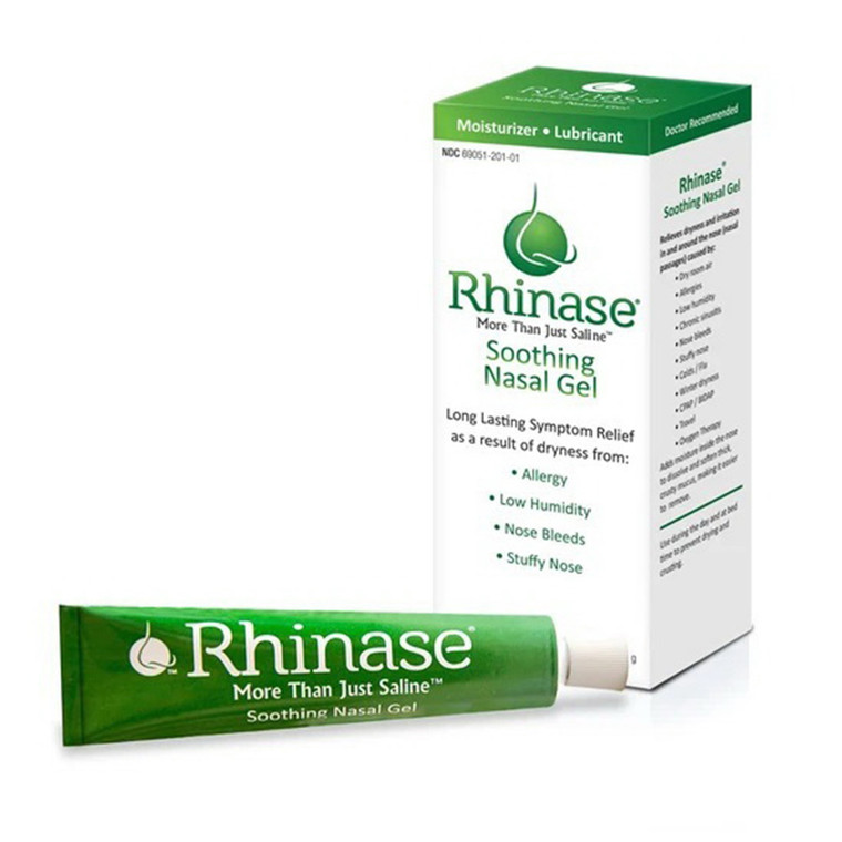 Rhinase Soothing Lubricating Nasal Gel, 1 Oz