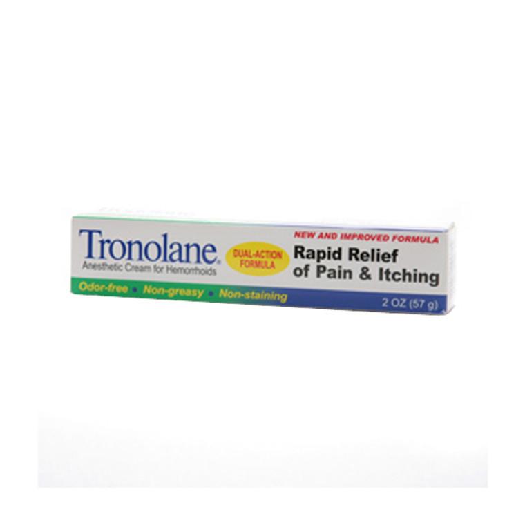 Tronolane Anesthetic Cream For Hemorrhoid - 2 Oz