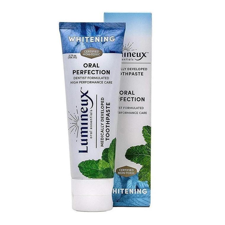 Lumineux Oral Essentials Fluoride Free Teeth Whitening Toothpaste, 3.75 Oz