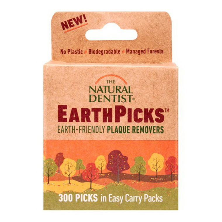 The Natural Dentist Earth Picks Plaque Removers, 300 Ea