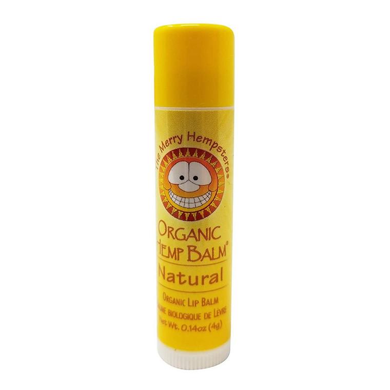 Merry Hempsters Organic Hemp Lip Balm Unscented, 0.14 Oz