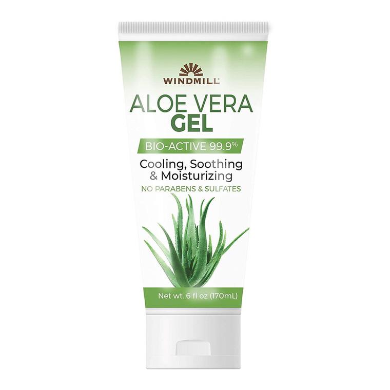 Windmill Aloe Vera Moisturizing Gel Bio Active 99.9%, 6 Oz