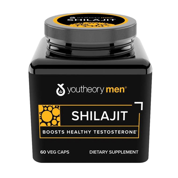 Youtheory Mens Shilajit Advanced Dietary Supplement Capsules, 60 Ea