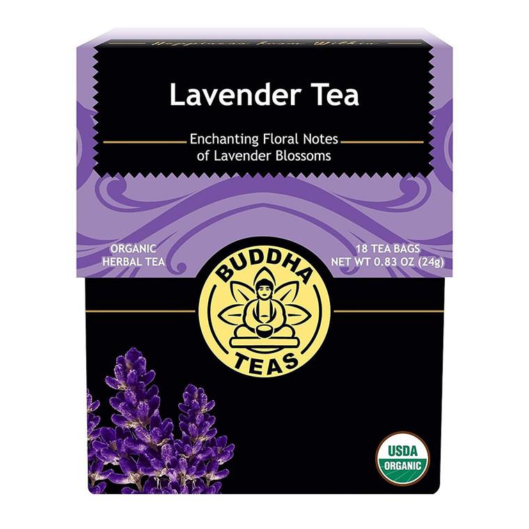 Buddha Teas Organic Lavender Tea Bags, 18 Ea