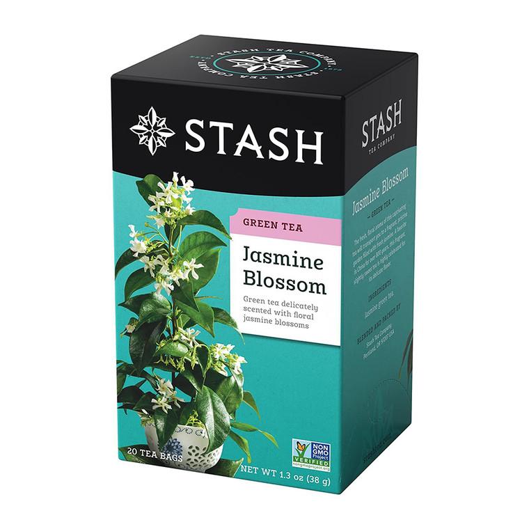 Stash Jasmine Blossom Green Tea Bags, 20 Ea