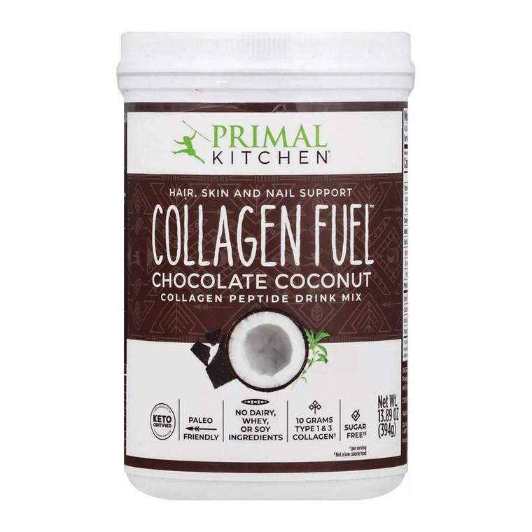 Primal Kitchen Collagen Fuel Protein Mix, Chocolate Coconut, 13.1 Oz