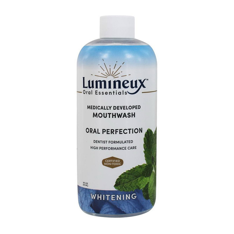 Lumineux Oral Essentials Teeth Whitening Mouthwash And Toothpaste, 16 Oz