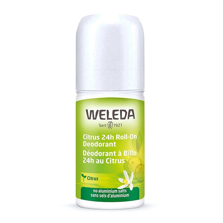 Weleda Citrus 24 Hours Roll On Deodorant, 1.7 Oz