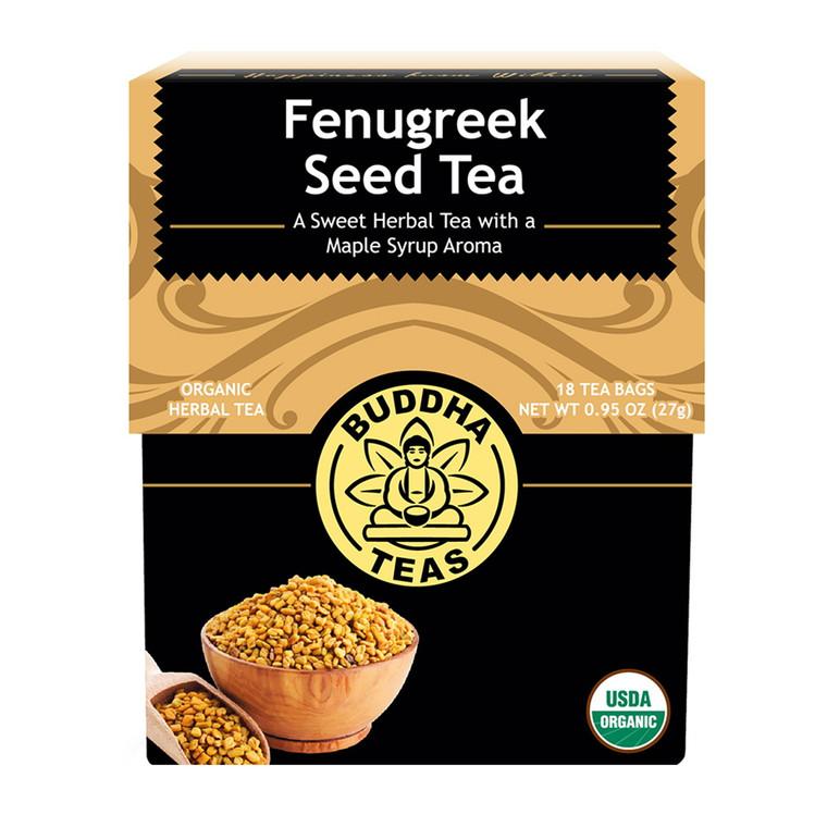 Buddha Teas Organic Fenugreek Seed Tea Bags, 18 Ea
