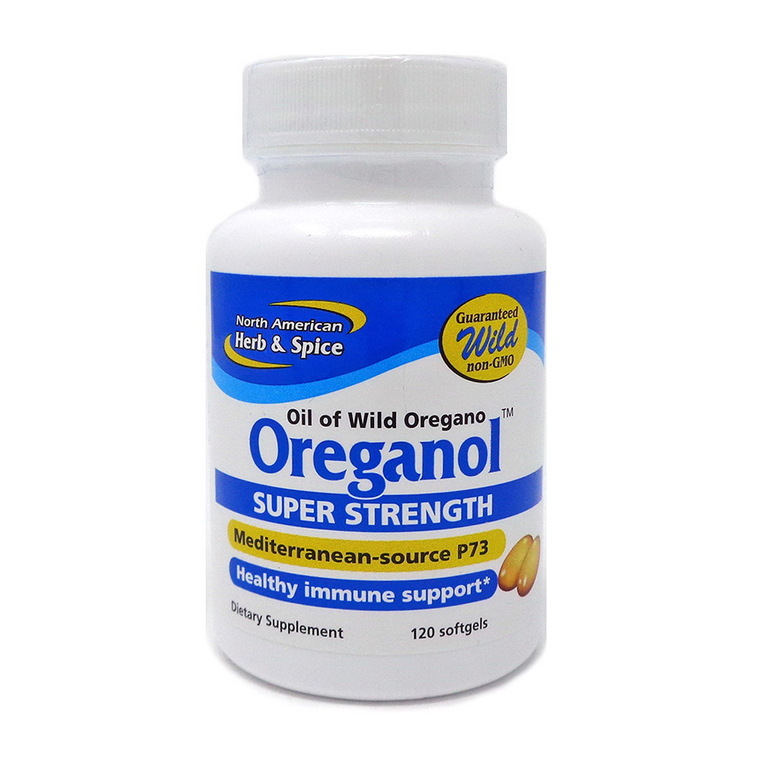 North American Herb and Spice Oreganol Super Strength Capsules, 120 Ea