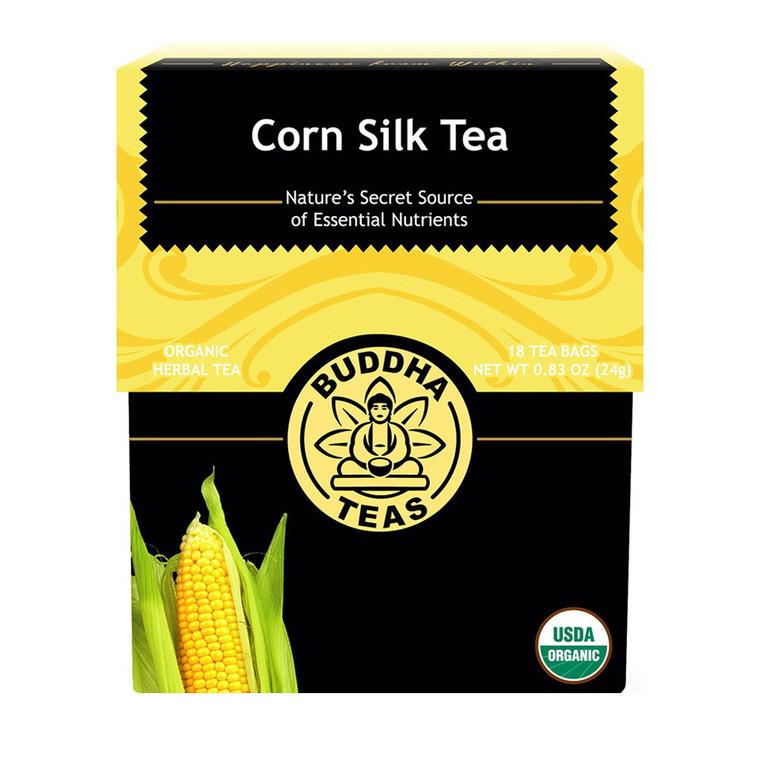Buddha Teas Organic Corn Silk Tea Bags, 18 Ea