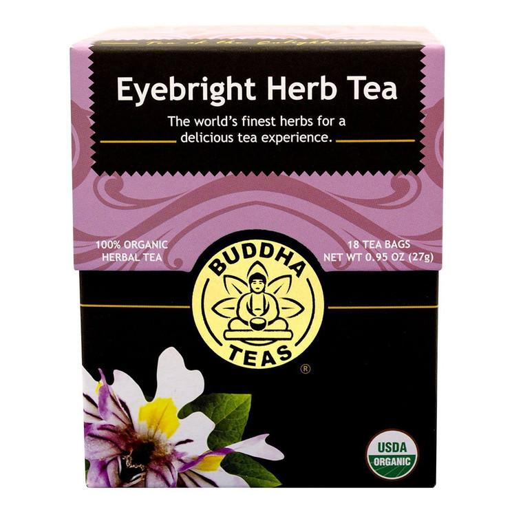 Buddha Teas Organic Eyebright Herb Tea Bags, 18 Ea
