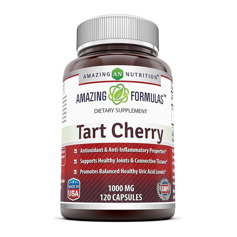 Amazing Nutrition Amazing Formulas Tart Cherry Extract 1000 Mg Capsules, 120 Ea