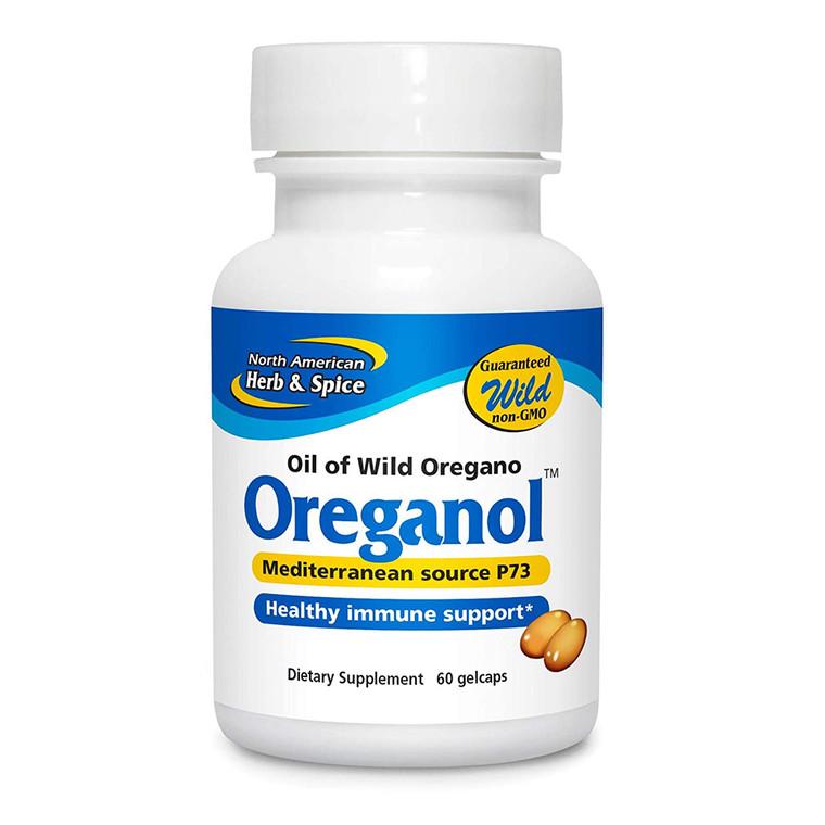 North American Herb & Spice Oreganol Oil of Wild Oregano Softgels, 120 Ea