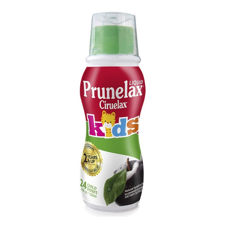 Prunelax Ciruelax Natural Laxative Regular Liquid for Kids, 4.08 Oz