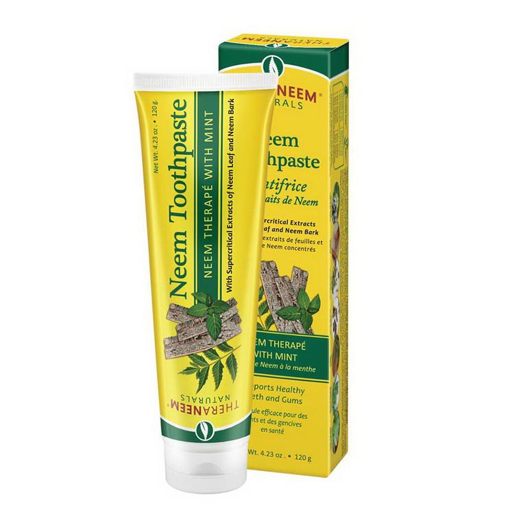 TheraNeem Naturals Neem Toothpaste, Mint Flavor, 4.23 Oz