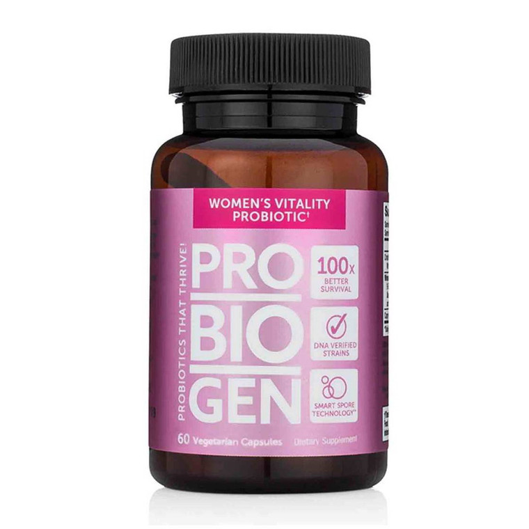 Probiogen Women's Vitality Probiotic Vegetarian Capsules, 60 Ea