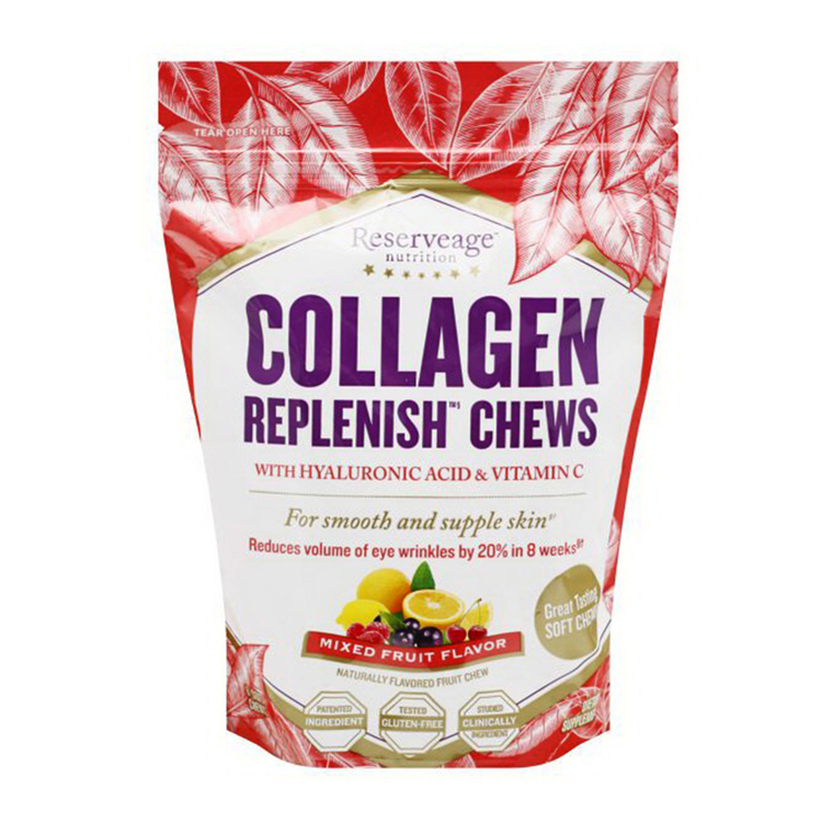 Reserveage Nutrition Collagen Replenish with Hyaluronic Acid and Vitamin C, 60 Ea