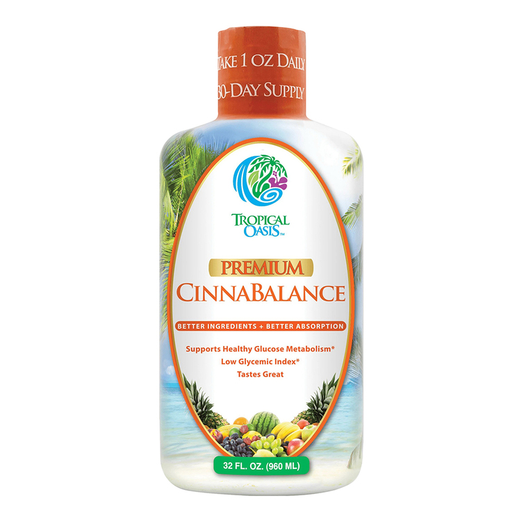 Tropical Oasis Premium Cinnabalance Liquid Supplement, 32 Oz
