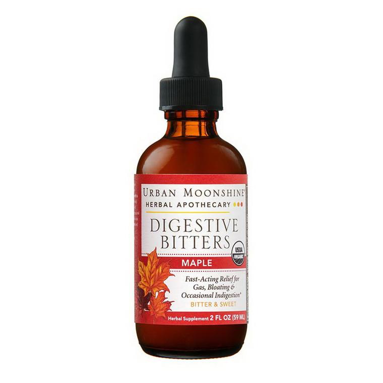 Urban Moonshine Herbal Maple Digestive Bitters, 2 Oz