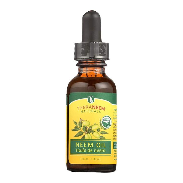 Thera Neem Naturals Neem Oil, 2 Oz