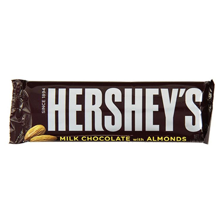 Hersheys Milk Chocolate, With Almonds - 36 Bars