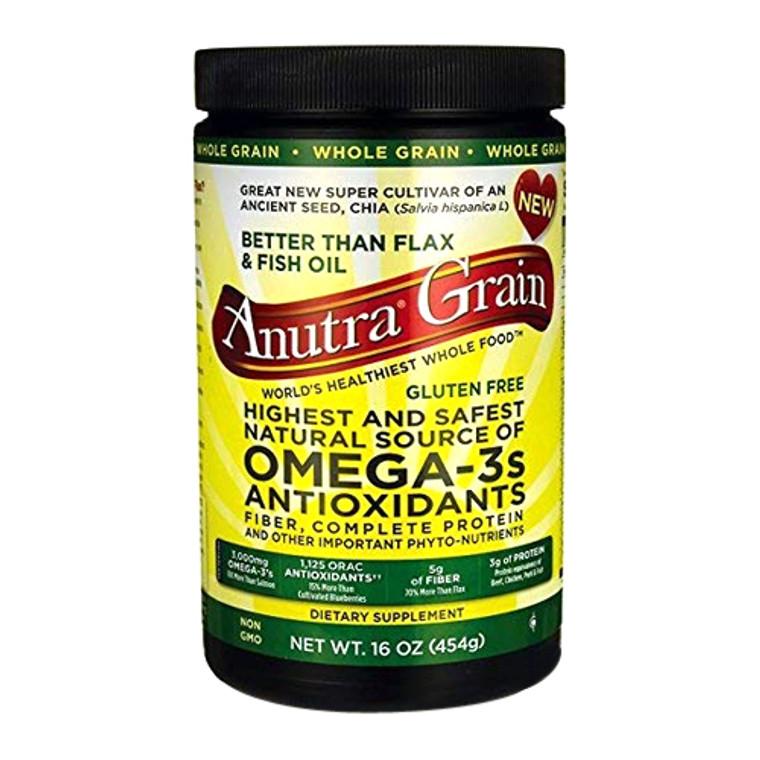 Anutra Omega-3S Antioxidants Whole Grain - 16 Oz
