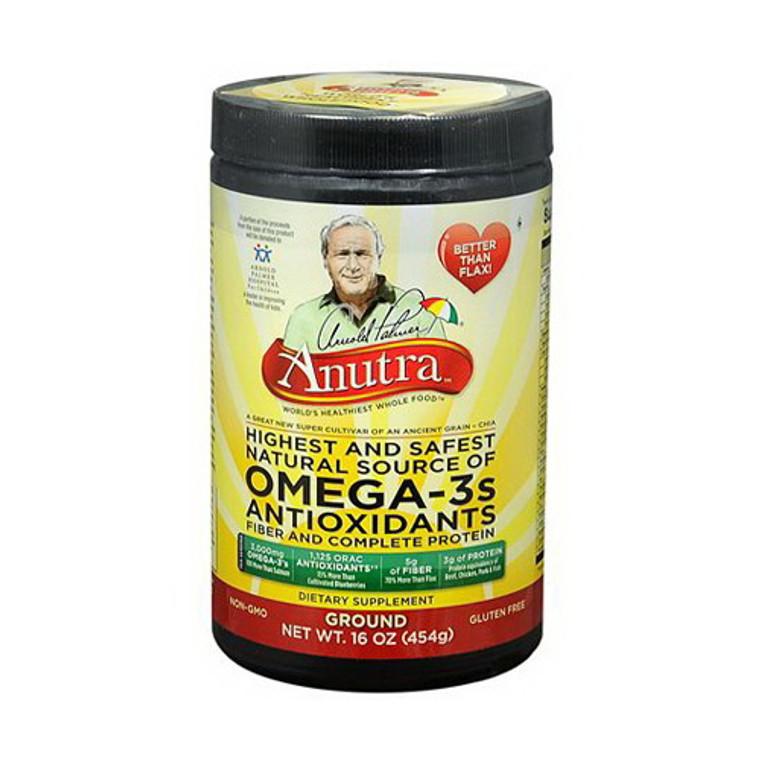 Anutra Omega-3S Antioxidants, Ground - 16 Oz