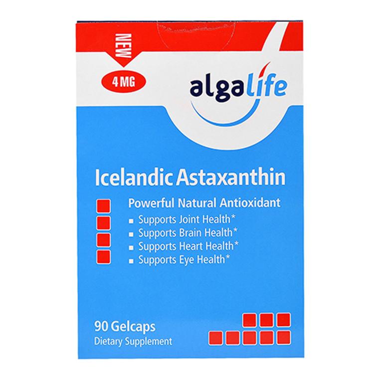 Algalife Icelandic Astaxanthin Powerful Natural Antioxidant Gelcaps, 90 Ea