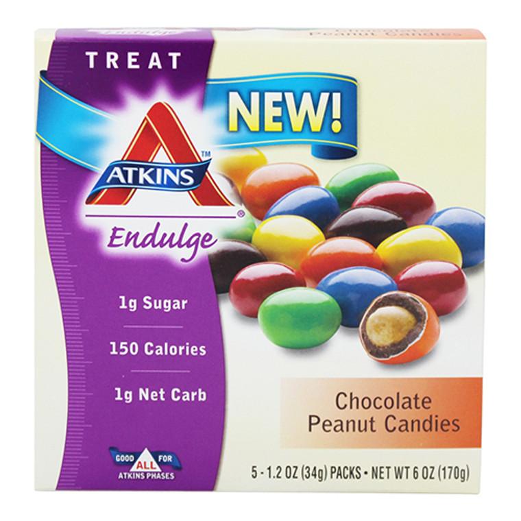 Atkins Endulge Chocolate Peanut Candies - 1.2 oz, 5 Packets