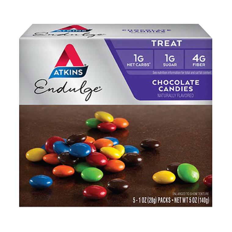 Atkins Endulge Chocolate Treat Natural Candies, 1 Oz, 5 Ea