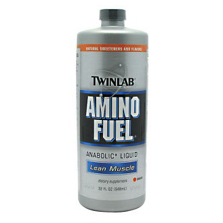 Twinlab Amino Fuel Anabolic Liquid Concentrate, Lean Muscle - 16 Oz