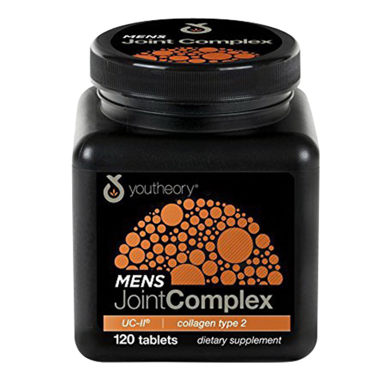Youtheory Mens Joint Complex with Collagen Type 2 UC-ll Supplement Capsules, 60 Ea