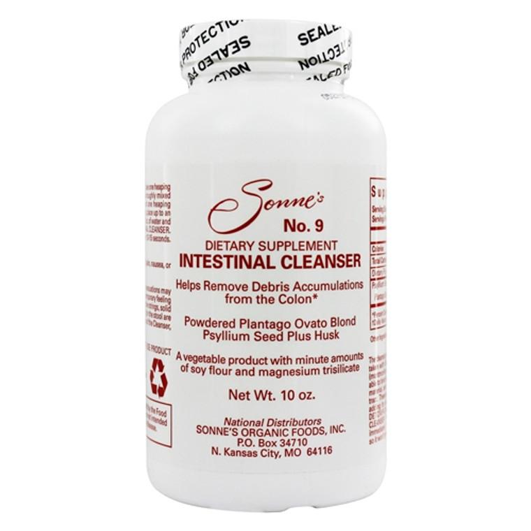 Sonnes Intestinal Cleanser No 9 Natural Bulking Agent Powder, 10 oz