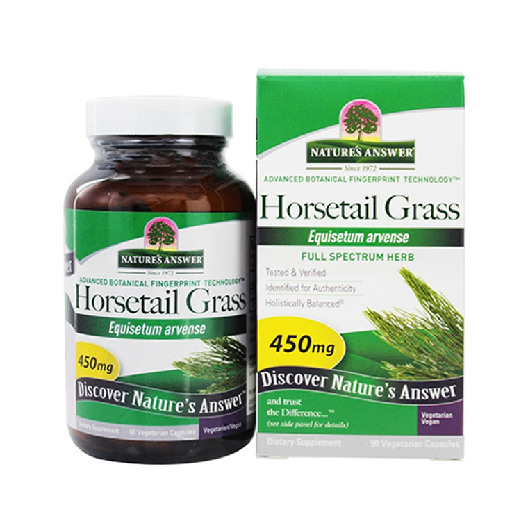 Natures Answer Horsetail Grass Vegetarian Capsules, 90 Ea