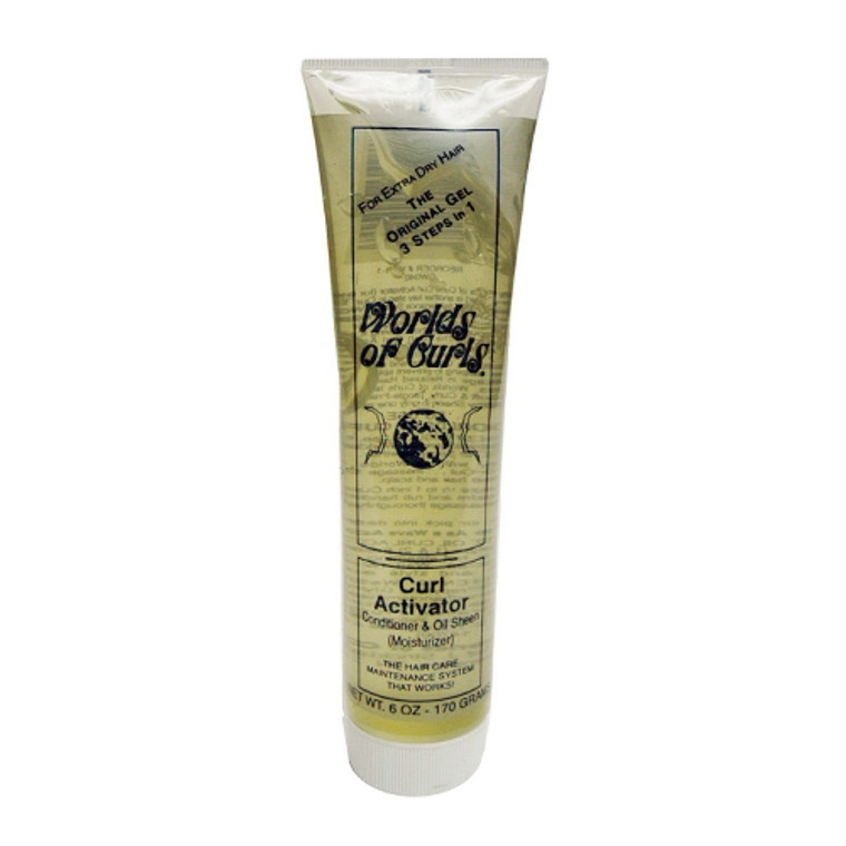 Worlds Of Curls Curl Activator Gel For Extra Dry Hair, 6 Oz