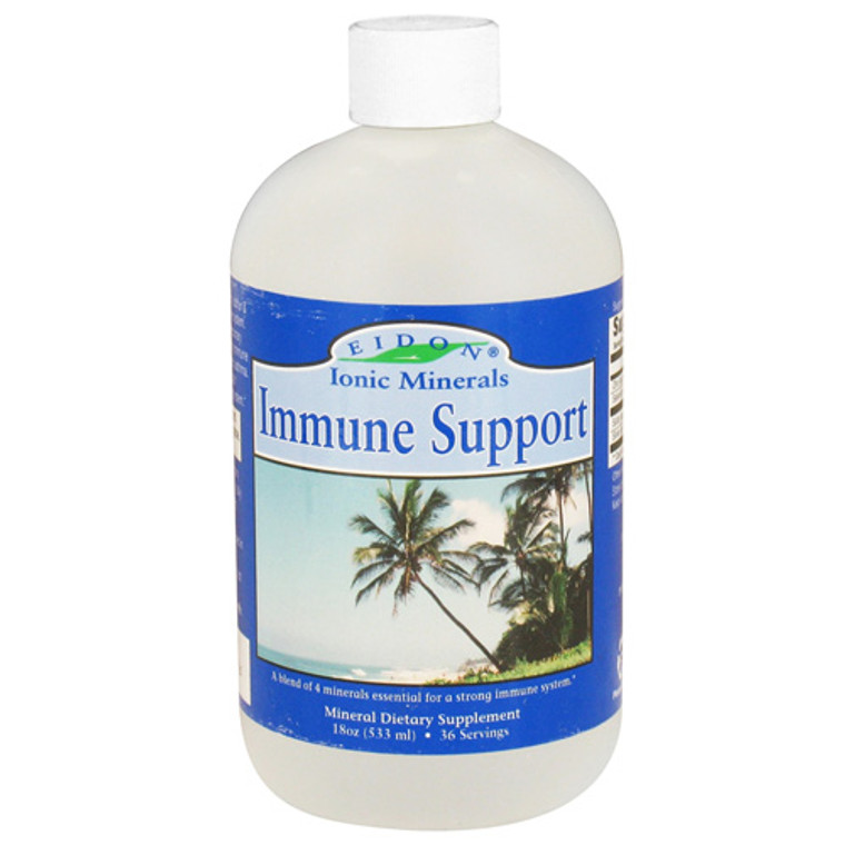 Eidon Ionic Minerals Immune Support Liquid - 18 Oz