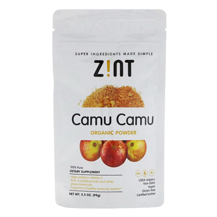Zint Camu Camu Organic Supplement Powder, 3.5 Oz