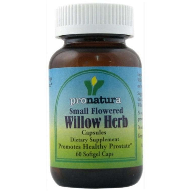 Pronatura Small Flowered Willow Herb Softgels - 60 Ea