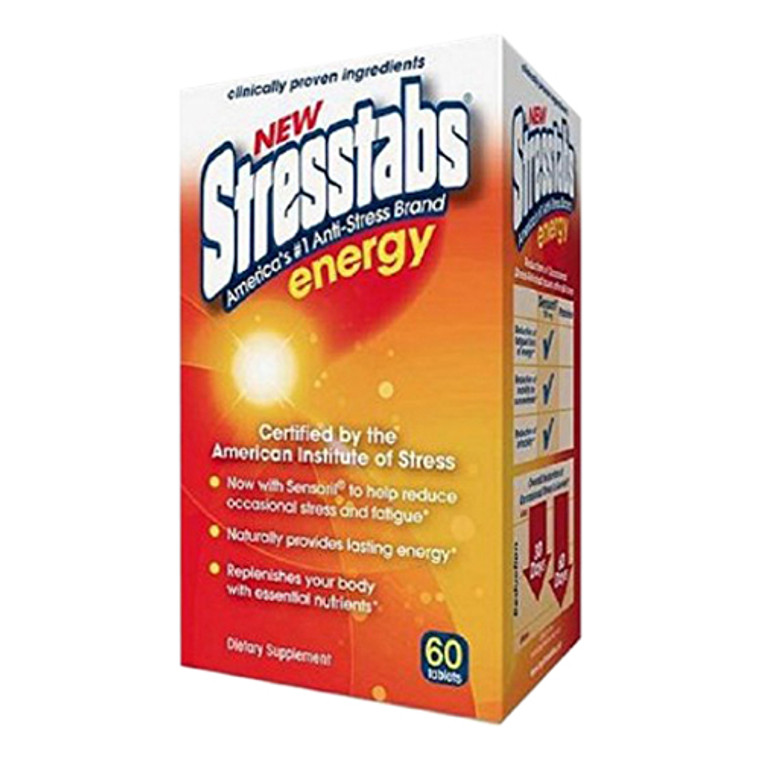 Stresstabs Energy Tablets, 60 ea