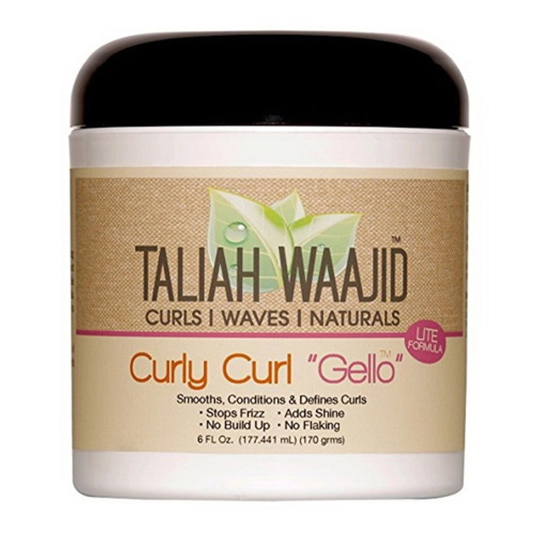 Taliah Waajid Curly Curl Conditioning And Hydrating Hair Gello, 6 Oz