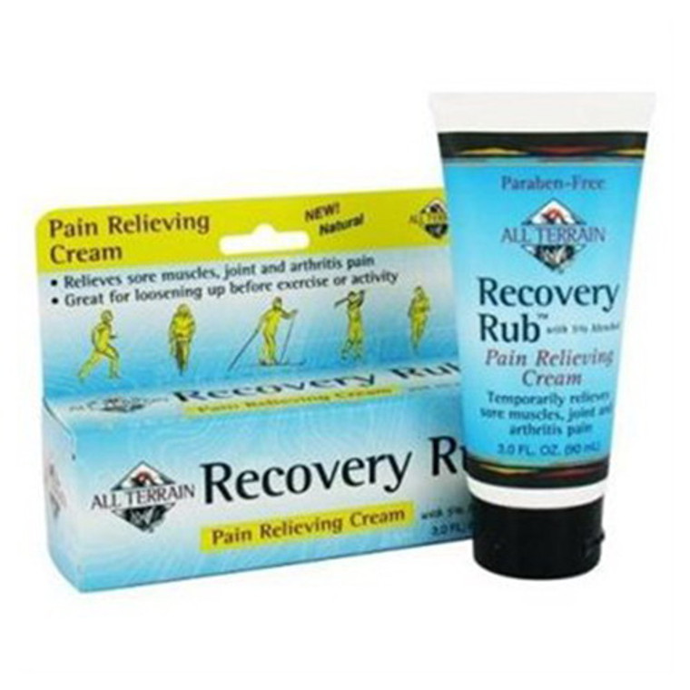 All Terrain Recovery Rub Pain Relieving Cream - 3 Oz