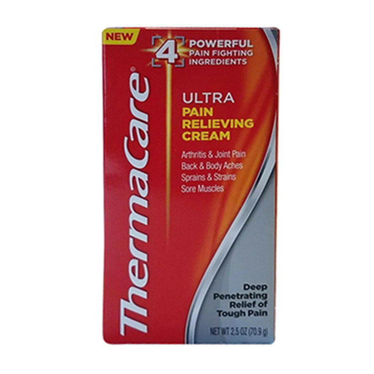Thermacare Ultra Pain Relieving cream, 2.5 Oz